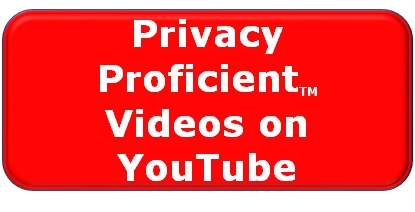 Privacy Proficient Videos on YouTube